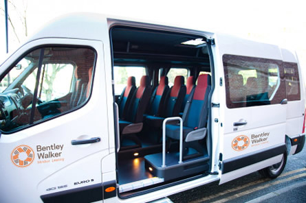 Bentley Walker Minibus leasing